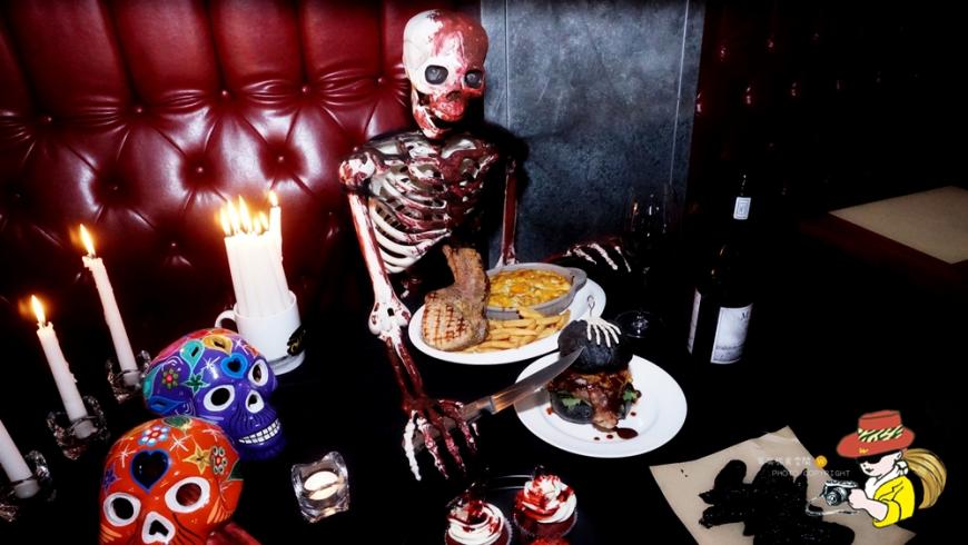 萬聖節餐廳推薦 臺北美式漢堡 驚悚餐點 意外好吃不膩口 - Yahoo奇摩旅遊