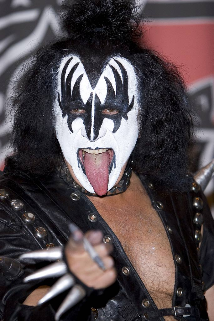 kiss gene simmons makeup | The World Of Make Up