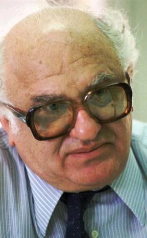 Jacobo Timerman, en 1984. Murió en 1999. (AP)