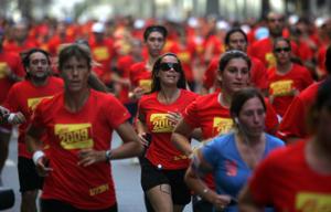 Marea roja: creciente furor por correr (DyN)