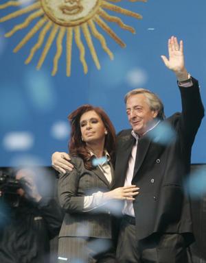 Néstor, Cristina, y un modelo de país (DyN)