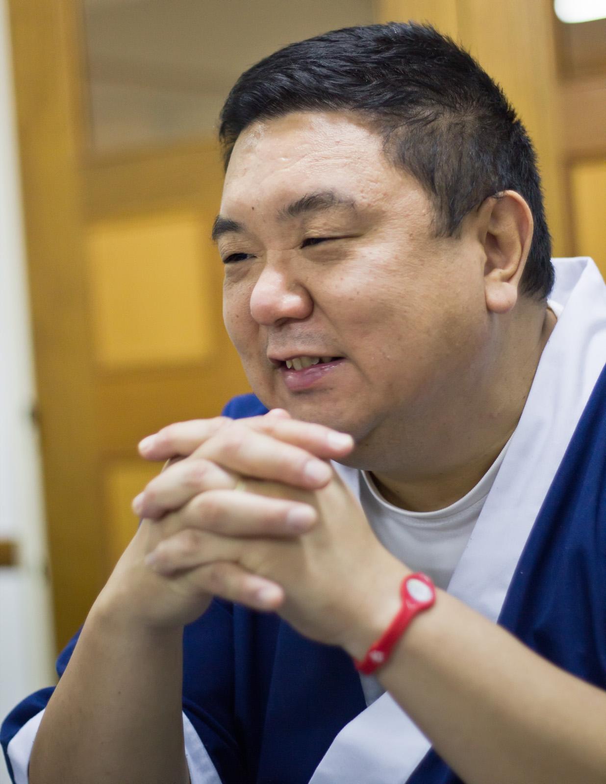 Iwao durante la entrevista con Yahoo! (Foto: Gonzalo Sáenz)