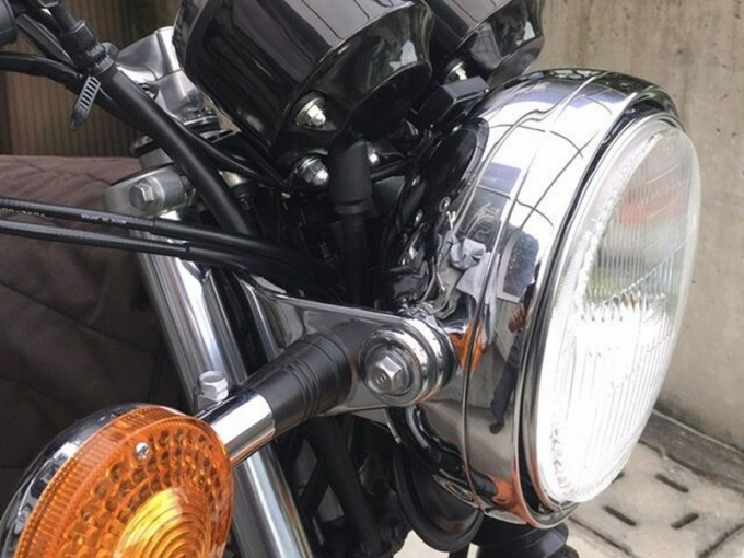 【訂料動手改】用Dragstar頭燈讓SR400看起來像早期款! - Yahoo奇摩汽車機車