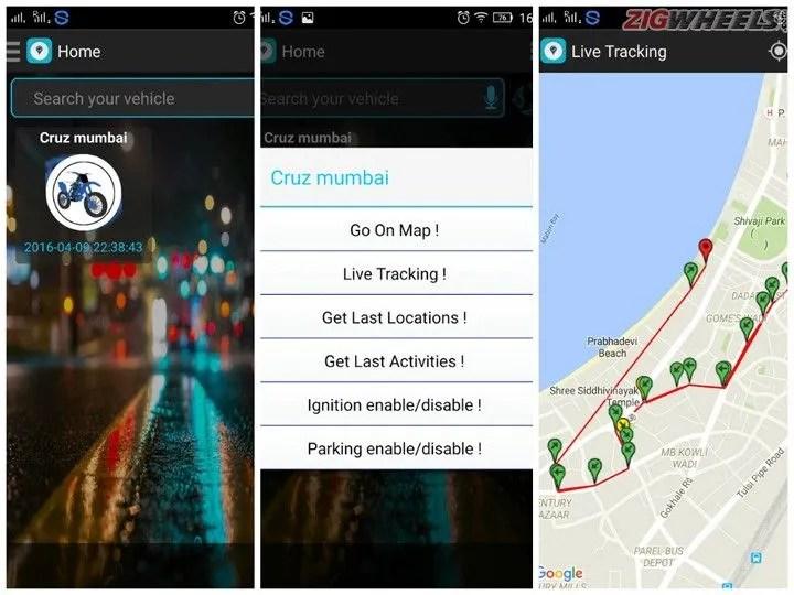 Hero Electric Cruz: Mobile App