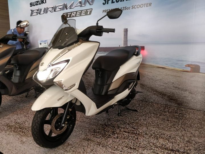 Image result for Suzuki Burgman 125 launch price Rs 68,000 – Honda Activa rival already has 2 month waiting period