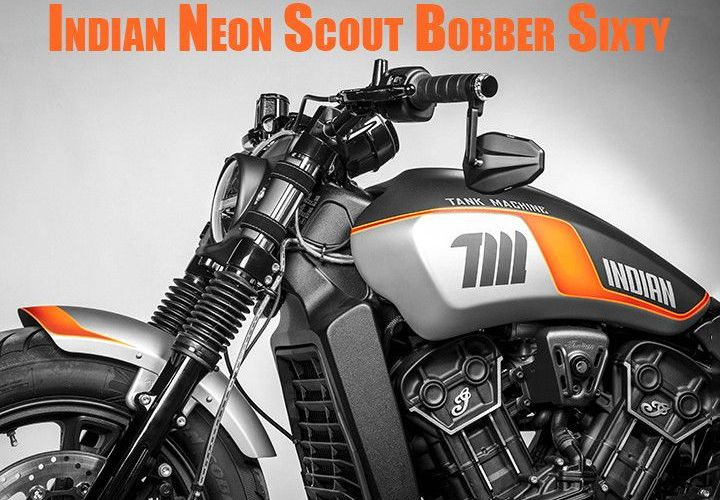 Indian Neon Scout Bobber Sixty Limited Edition