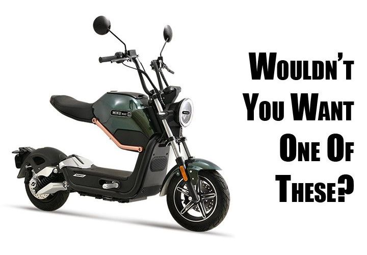 Sunra EV Miku Max Is One Funky Little Electric Scooter