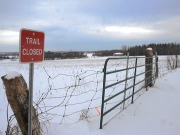 Closing south Simcoe snowmobile trails out of club's hands, member says