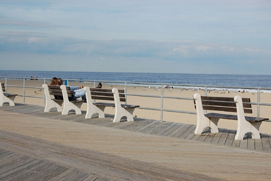 Pristine, New Jersey Beach, Free of trash