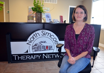 Sarah Durant launched the North Simcoe Therapy Network in June of 2016. The mental health support service recently moved to a new office at 788 Yonge St.