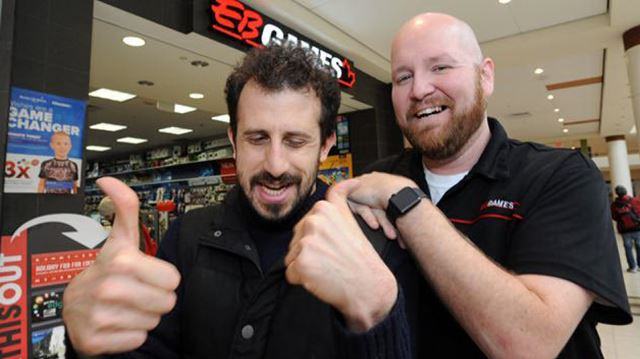 EB Games Staffer Buys Sony PS4 For Store Regular A Man