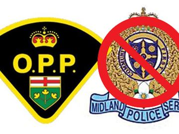Midland council voted 6-3 in favour of disbanding the local police force and switching to the OPP.