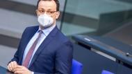 Livestream: Jens Spahn im Bundestag zu Corona-Schnelltests