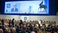 Das war Präsenz der Aktionäre noch erlaubt. Die Hauptversammlung der Deutschen Bank 2017.