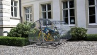 Nach dem Prinzip Brotkasten: Fahrradgarage Modell Ceratum Trio
