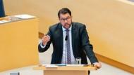 Will im nächsten Jahr in die Regierung: Jimmie Åkesson, der Vorsitzende der rechtspopulistischen Schwedendemokraten