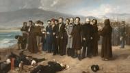 """Spanische Würde im Angesicht des Todes: """"Die Erschießung von Torrijos und seinen Gefährten"""" von Antonio Gisbert"""