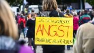 Eine Strategie gegen Angst: Wütend sein und demonstrieren