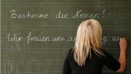 Nomen genügen nicht: unzulänglicher Deutschunterricht