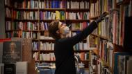 Eine Buchhändlerin in Barcelona