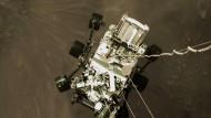 Wie lang Erdmikroben auf dem Mars überleben könnten