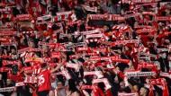 Union-Fans am vergangenen Donnerstag: Das Verhalten einiger ihrer Anhänger könnte dem Verein noch teuer zu stehen kommen.