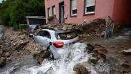Überschwemmung in Hagen