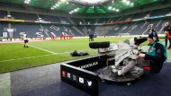The Bundesliga clubs now cover more than a third of their budget from media marketing revenues.