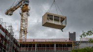 Hier entsteht das neue Bürogebäude für den Bundestag