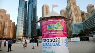 Expo 2020/2021 in Dubai: Die baden-württembergische Expo-Projektgesellschaft wirbt mit fünf Millionen möglichen Fachbesuchern.
