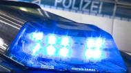 Die Polizei traf die Beschuldigten noch vor Ort an (Symbolbild)