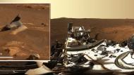 """Rover """"Perseverance"""" schickt hochaufgelöstes Panorama-Bild vom Mars"""