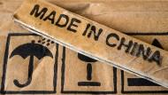 """Produkte aus Hongkong müssen in Amerika künftig als """"Made in China"""" gekennzeichnet werden."""