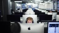 Traditionell die Mehrheit: In der IT-Branche werden hauptsächlich Männer eingestellt.