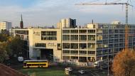 Das neue Aufbau-Verlagsgebäude in Berlin