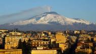 Im Schatten des Vesuv: Die italienische Stadt Catania, wo Paolo Ciulla wirkte