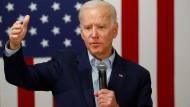 Demokrat Joe Biden am Mittwoch in Osage, Iowa