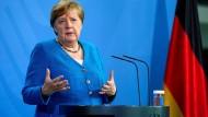 Bundeskanzlerin Angela Merkel ließ über ihren Regierungssprecher ihr Mitgefühl aussprechen.