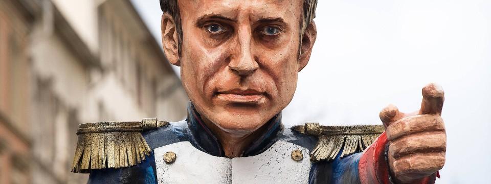 Kann nicht nur Feldherr: Macron fühlt sich auf allen Politikfeldern zuhause.