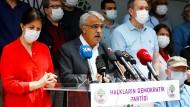 Ihre Partei könnte schon bald verboten werden: Die Führung der prokurdischen HDP