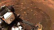 Weltall: Mars-Rover Perseverance macht erste Testfahrt auf Rotem Planeten