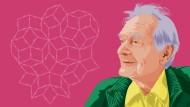 Illustration Roger Penrose mit Kachel