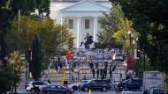 Das Weiße Haus in Washington am Dienstag