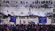 Der Angriff auf das Kapitol durch Trump-Unterstützer am 6. Januar