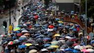 In Hongkong wurden 29 Personen bei Ausschreitungen festgenommen.