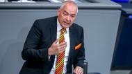 Axel Fischer (CDU) im Jahr 2018 im Bundestag