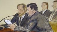 """Im November hatte in New York """"El Chapos"""" Prozess begonnen."""