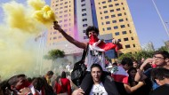 Technopartys und Graffiti: Die Menschen in Beirut feiern ihren Drang nach Freiheit