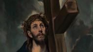 """El Greco: """"Christus trägt das Kreuz"""" (etwa zwischen 1577 und 1587 gemalt)"""