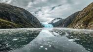 Amerikas Finale ist eine topographische Trümmerlandschaft, zermahlen von der Urgewalt der Gletscher, zermürbt von der Kraft der Erosion.